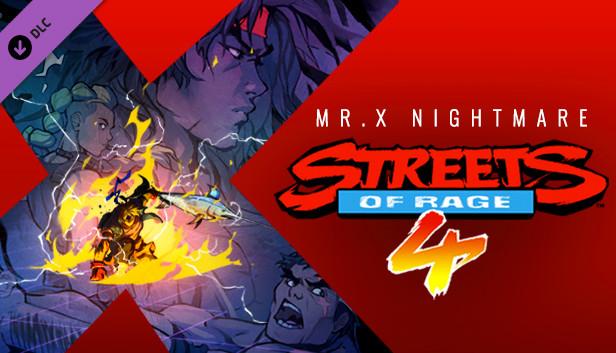 معرفی بسته الحاقی Mr. X Nightmare برای بازی Streets of Rage 4