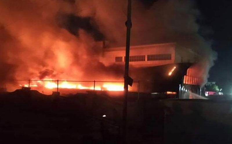 ۸۰ کشته در آتش سوزی بیمارستان امام حسین عراق
