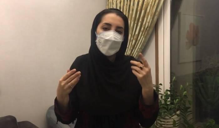 فلج شدن فک سحر جعفری جوزانی با اشتباه فاجعه آمیز دکتر