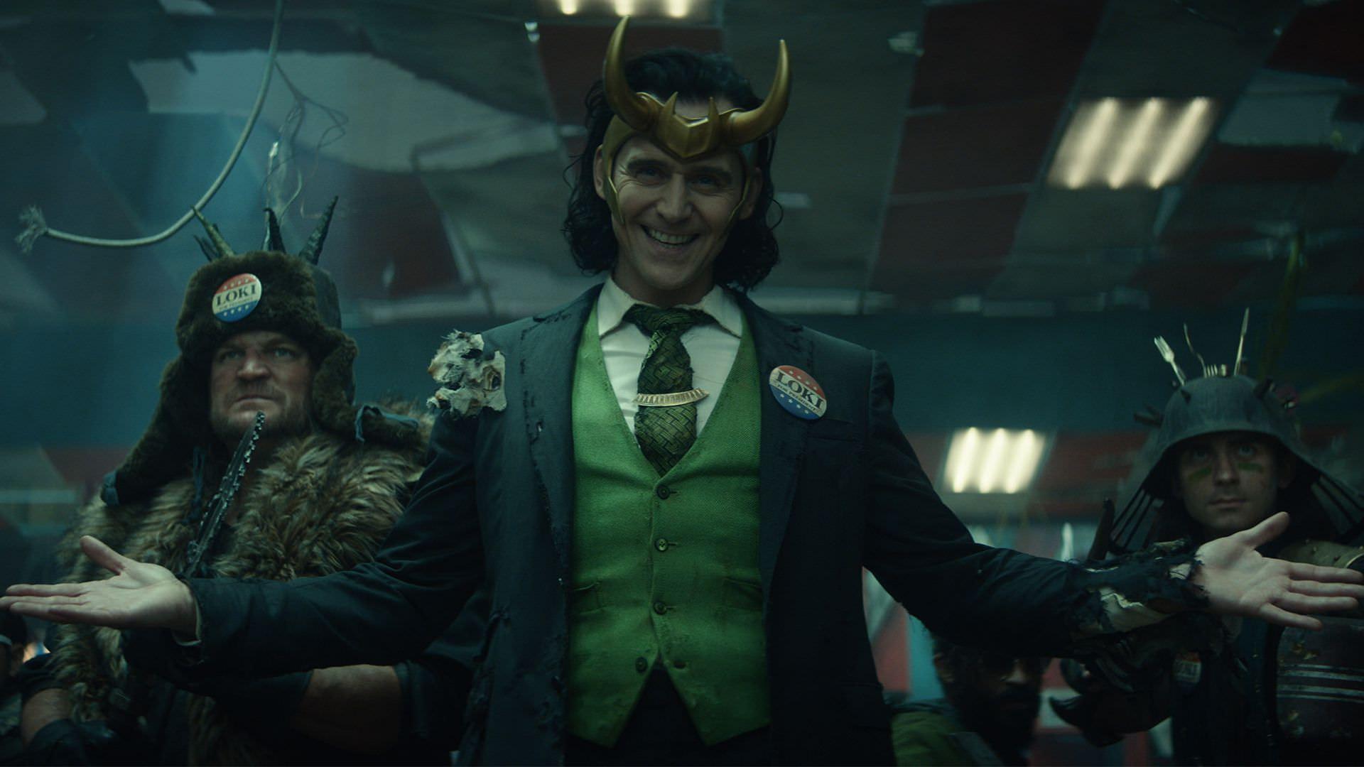 حضور رئیس جمهور لوکی در قسمت پنجم سریال Loki