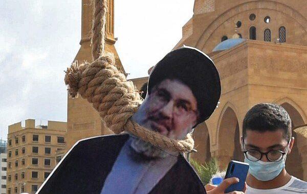 حمله مردم خشمگین جنوب لبنان به حزب الله لبنان