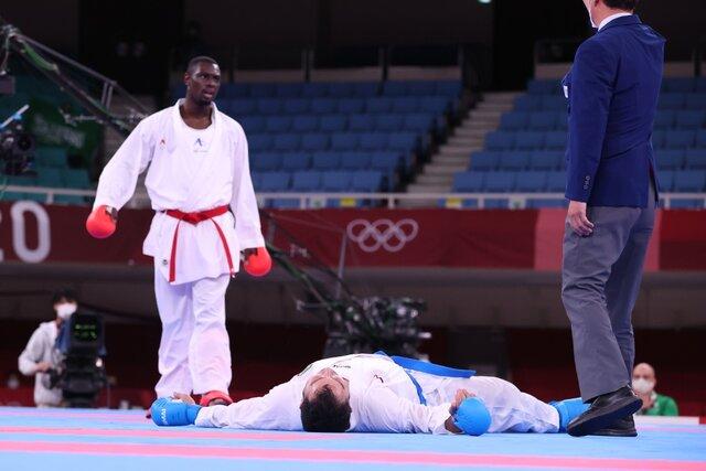 سجاد گنجزاده با بیهوش شدن مدال طلای المپیک گرفت